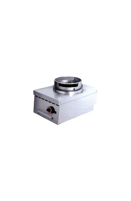 Viryklė su wok adapteriu