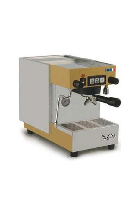 Espresso kavos aparatas su programuojamu dozavimu